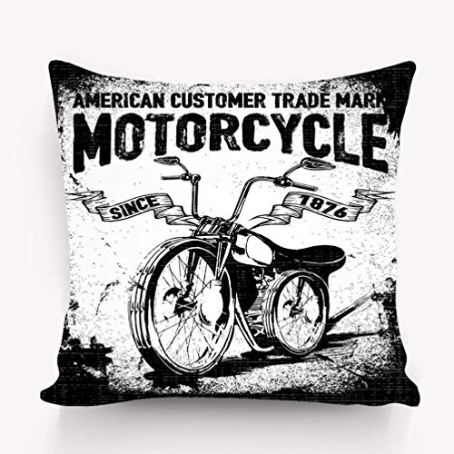 hgdfhfgd Kopfkissenbezug Motorrad Grafik Mode Stil 18