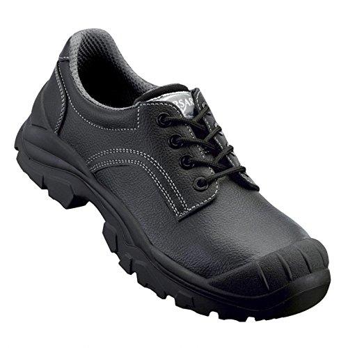 Arbeitsschuh Sicherheitsschuh Schuh Luca 2 Halbschuh S3 schwarz-grau - Größe 47