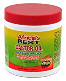 Africas Best Castor Oil Hair & Scalp Conditioner, 5.25 Oz by Africa's Best