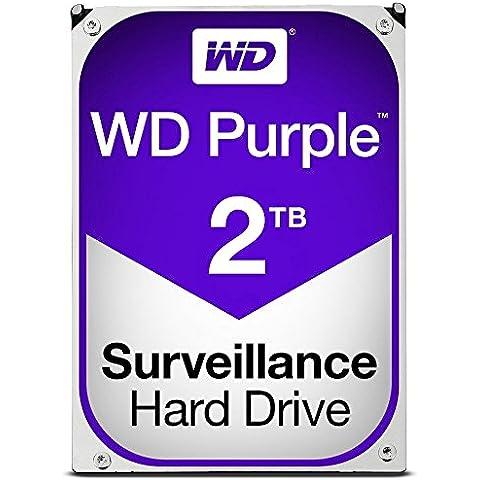 WD PURPLE 500GB hard drive per il monitoraggio video nero/argento