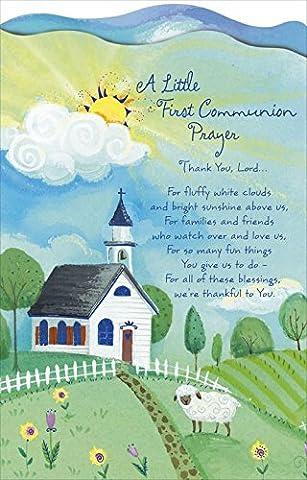 A Little First Communion Prayer - Greeting