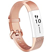 Fitbit Alta HR Armband,Vancle Fitbit Alta Armband Weiches Sports Ersetzerband Silikagel Fitness Verstellbares Uhrenarmband für Fitbi Alta und Fitbit Alta HR
