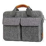Inateck Housse d'Ordinateur Portable 13'-13,3' en Feutre Gris Compatible avec MacBook...