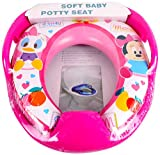 #9: Baby Grow Cushioned Potty Toilet Seat with Handle (Minnie_Ducky)
