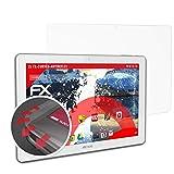 atFolix Schutzfolie passend für Archos 101 Magnus Folie, entspiegelnde & Flexible FX Bildschirmschutzfolie (2X)