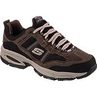 Skechers Sport Men's Vigor 2.0 Trait Memory Foam Sneaker, Brown/Black, 7 M US