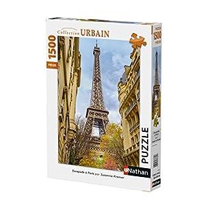 Nathan-Puzzle-Escapade à Paris-1500Piezas, 87784