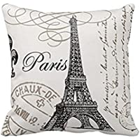 Ammazona Tower Pillow Case Sofa Waist Throw Cushion Cover Home Decor