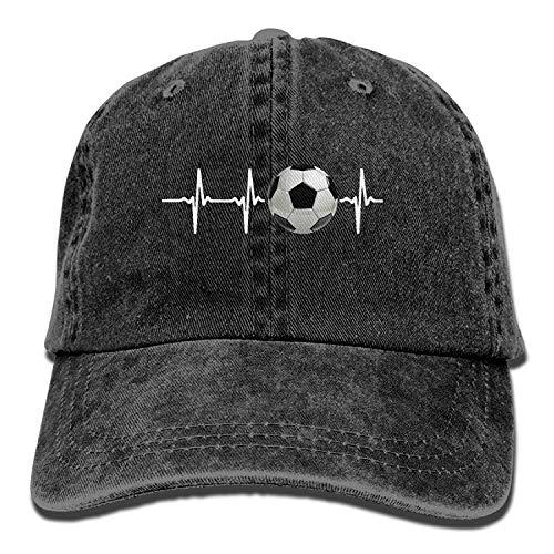 Miedhki Baseball Deckel Soccer Heartbeat-1 Men Golf Hats Polo Style Low Profile Design6