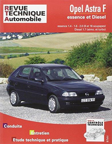 revue technique 547.2 Opel Astra F Essence et Diesel 92-93