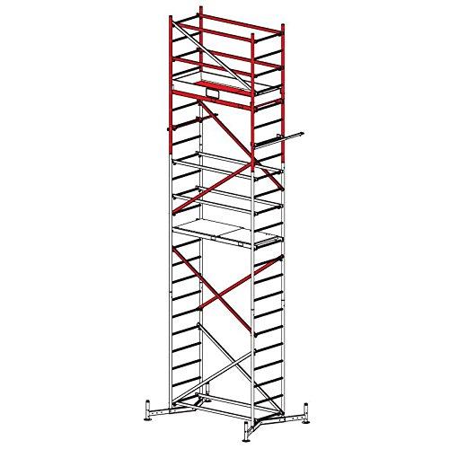 KRAUSE ClimTec Alu-ArbeitsGerüst - 2. Aufstockung (+ 2,00 m) für ClimTec Gerüste mit 5,00 m Arbeitshöhe