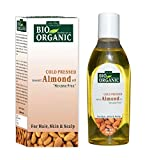 #6: Indus Valley Remedies Pure, Natural ColdPressed Sweet Almond Oil for Hair & Skin (No Mineral Oil & Sulphate) 200ml