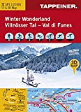 KOKA134 Winterkarte Winter Wonderland Villnöss GPS kompatibel 1:25000 (Winter-Wanderkarten)