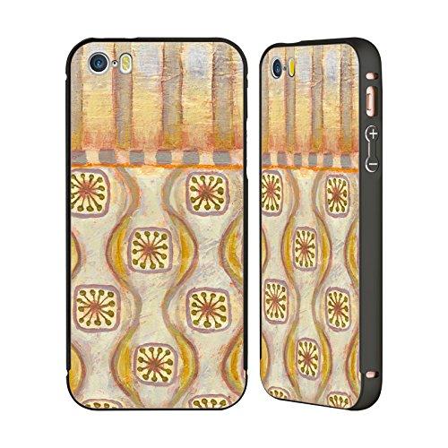 Ufficiale Rachel Paxton Muro Delle Meraviglie 5 Collage Pattern Nero Cover Contorno con Bumper in Alluminio per Apple iPhone 6 Plus / 6s Plus Sterling Copper 14