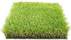 Best Arificial Grass for Floor, Soft and Durable Plastic Natural Landscape Garden Plastic Turf Carpet Mat, Artificial Grass(6.5 X 6 Feet)