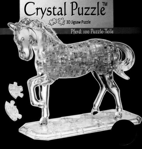 HCM Kinzel 3D Crystal Puzzle Pferd 100 Teile (3d Crystal Puzzle Pferd)