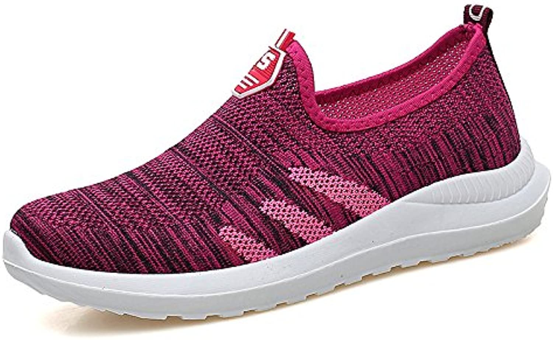 Hasag Ocio Zapatos Deportivos Zapatos Antideslizantes Zapatos de Malla de Verano de Fondo Suave Zapatos de Malla