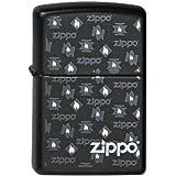Zippo Briquet #218 Zippo White Flames