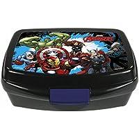 The Avengers - Brotdose - für Kindergarten, Schule oder Sport - Motiv: Iron Man, Hulk, Thor, Captain America - Marvel - Disney - Lunchbox / Brotzeitdose preisvergleich bei kinderzimmerdekopreise.eu