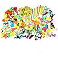 6f15bb5b9db0b3 Zcoins 100 STÜCKE Spielzeug Sortimente für Kinder Party Favors Supplies  Kinder Geburtstagsgeschenk Taschen Pinata Füllstoffe Karneval