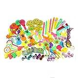 100PCS Assortimenti di giocattoli per bambini Bomboniere per feste Forniture Girl Boy Regalo di compleanno Borse Bambini Carnival Prize School Reward