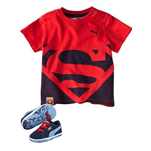 Puma Crib Pck Superman 2, Chaussons Baskets Mixte Enfant