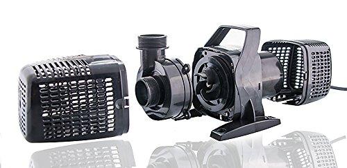 Filterpumpe bis 8000l/h Energiespar Eco- Teichpumpe Pumpe Bachlaufpumpe Koiteich -