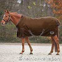 Heinick-Reitsport - Cubierta para lluvia marrón, forro polar para la intemperie, de 115 a 165 cm
