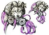 Arm Tattoo Wolf Tattoo Fake Tattoo KM189