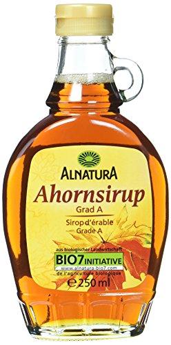 Alnatura Bio Ahornsirup, Grad A, vegan, 1er Pack (1 x 250 ml)