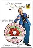 Die ganz persönliche Geburtstags-CD von Frank Zander - DAS ORIGINAL - Jeder Vorname ist möglich. Er wird auf die CD gedruckt und 7 x im Lied gesungen! -