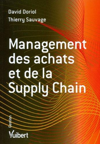 Management des achats et et de la supply chain