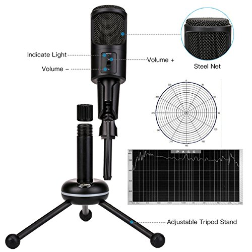 Zoom IMG-2 microfono desktop usb plug play
