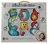 Mimi Bells Multicolor Musical Toy RATTLE SET JHUNJHUNA and TEETHERS for Baby