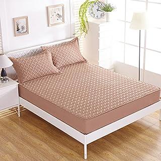 FHFGHYURBNYFGHFBY Bettlaken/Bett Sets/tagesdecke/matratzenbezug/wasserdicht und Dicker Anti-mite-matratze schutzhülle-E 180x200x50cm(71x79x20inch)
