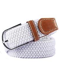 Lannister Fashion Cinturón Elástico Trenzado Elástico Unisex Para Hombres  Cinturón Regalos De Tela Cinturón ... 4924afb673b6