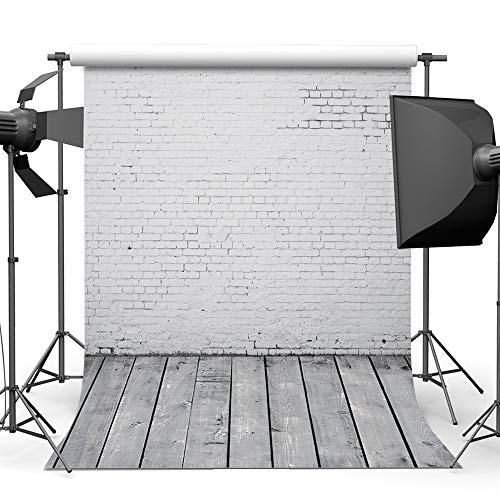 Garden hall Backsteinmauer Fotografie Hintergrund Tuch Baumwolle Studio Foto TV Hintergrund Wand 5x7ft (Color : A) (Studio-hintergrund Tv)
