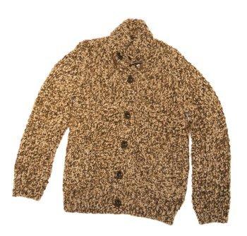 BOSS BLACK Hugo Veste en tricot Harry couleur Marron Mix 264 - Marron -