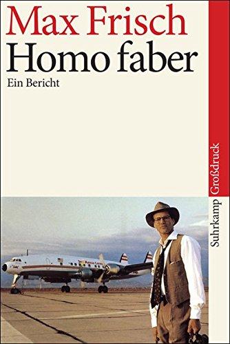 Preisvergleich Produktbild Homo faber: Ein Bericht. Großdruck (suhrkamp taschenbuch)