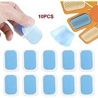 10 PCs Body Massager Formation Gel Autocollant Hydrogel Mat Patch Pad De Remplacement
