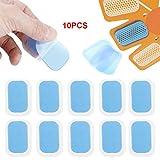 10PCS Adesivi in   silicone addominali adesivi ad alta adesività con patch adesivo in gel ad alta adesione sostituibili