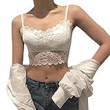 Yvelands Damen Dessous reizvoller Lace Strap Wrapped Brust Shirt Top Unterwäsche Perspektivemasch