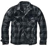 Brandit Luimberjacket, Black-Grey, Größe XXL