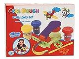 AK Sport 0282010 - Crea Dough Press Play Set, Kinderknete
