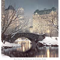 Zig Zag Art – Twilight in Central Park 'by Rod Chase – High Quality Lamina or Impresion (Image Size 76 cm W x 76 cm H)