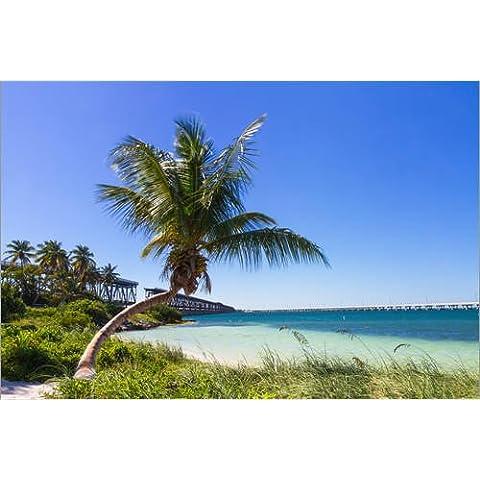 Impresión en metacrilato 120 x 80 cm: Bahia Honda Beach, Florida Keys de Circumnavigation