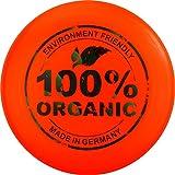 Eurodisc 175 g Ultimate Frisbee Disque volant Matière 98% Bio – Orange vif