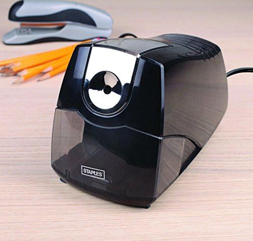 Staples Kraft extreme elektrische Anspitzer schwere schwarz