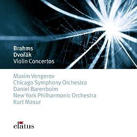 Elatus - Dvor�k : Violin Concerto / Brahms : Violin Concerto