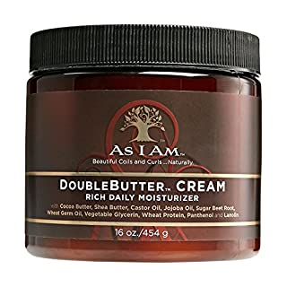 As I AM DOUBLEBUTTER CREAM Rich Daily Moisturizer 16oz